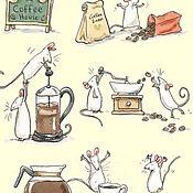"""Схемы для вышивки ручной работы. Ярмарка Мастеров - ручная работа Схема для вышивки """"Любителям кофе"""". Handmade."""