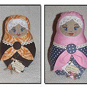 Куклы и игрушки ручной работы. Ярмарка Мастеров - ручная работа Матрешка текстильная. Handmade.