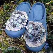 """Обувь ручной работы. Ярмарка Мастеров - ручная работа тапочки """"Сумерки"""". Handmade."""