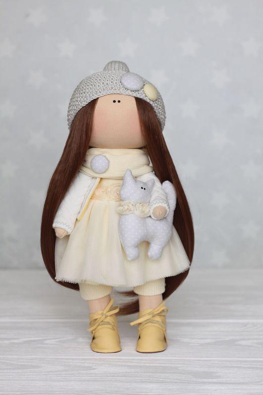 Куклы тыквоголовки ручной работы. Ярмарка Мастеров - ручная работа. Купить Интерьерная кукла. Handmade. Интерьерная игрушка, интерьер, кружево