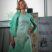 """Одежда ручной работы. Ярмарка Мастеров - ручная работа Платье """"Мятная нежность"""". Handmade."""