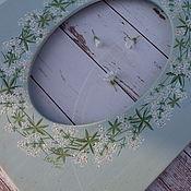 """Для дома и интерьера ручной работы. Ярмарка Мастеров - ручная работа Рамка """" В цвете подмаренника """". Handmade."""
