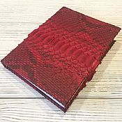 Канцелярские товары handmade. Livemaster - original item Diary from Python. Handmade.