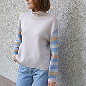 handmade. Livemaster - original item Cashmere cardigan Every day. Handmade.