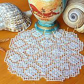 Для дома и интерьера handmade. Livemaster - original item Miniature, hand embroidery lace, napkin Greece travel. Handmade.