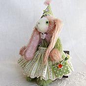 """Куклы и игрушки ручной работы. Ярмарка Мастеров - ручная работа Зайка """"Весенняя"""". Handmade."""