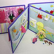 """Куклы и игрушки ручной работы. Ярмарка Мастеров - ручная работа Развивающая книжка """"Жизнь принцессы"""" 3Д. Handmade."""