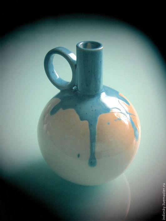 Графины, кувшины ручной работы. Ярмарка Мастеров - ручная работа. Купить бутылка керамическая. Handmade. Керамическая бутылка, для дома и интерьера