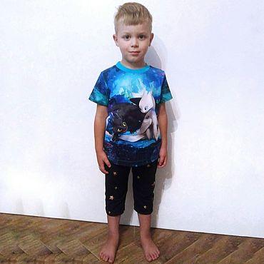 Одежда ручной работы. Ярмарка Мастеров - ручная работа Такие разные футболки. Handmade.