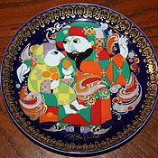 Винтаж handmade. Livemaster - original item Collection of plates