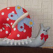 Куклы и игрушки ручной работы. Ярмарка Мастеров - ручная работа Улитка тильда. Handmade.