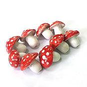 Материалы для творчества handmade. Livemaster - original item Ceramic beads handmade