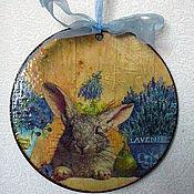 Подарки к праздникам ручной работы. Ярмарка Мастеров - ручная работа Пасхальный кролик. Handmade.