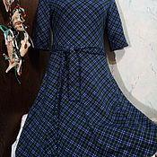 """Одежда ручной работы. Ярмарка Мастеров - ручная работа Платье """"Шотландка"""" (Распродажа). Handmade."""