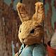Мишки Тедди ручной работы. Ярмарка Мастеров - ручная работа. Купить Кролик Питер по сказкам Беатрикс Поттер. Handmade.