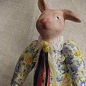 """Куклы и игрушки ручной работы. Ярмарка Мастеров - ручная работа Кукла интерьерная """"Пасхальный заяц"""". Handmade."""