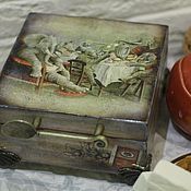 Для дома и интерьера handmade. Livemaster - original item TEA elephants!, tea box. Handmade.