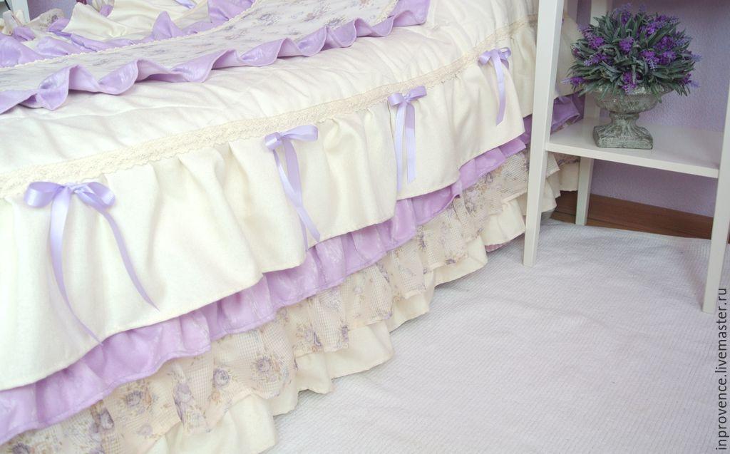 Покрывало на кровать в детскую для девочки сшить 175