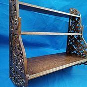 Для дома и интерьера handmade. Livemaster - original item Three-level shelf S-3003. Handmade.