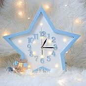 Для дома и интерьера handmade. Livemaster - original item Clock night light