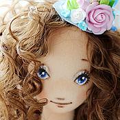 Куклы и игрушки ручной работы. Ярмарка Мастеров - ручная работа Текстильная  кукла Лин. Handmade.