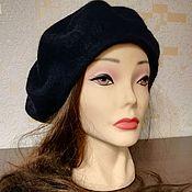 Аксессуары handmade. Livemaster - original item Classic felted beret