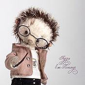 Тедди Зверята ручной работы. Ярмарка Мастеров - ручная работа Гарри Ёж Поттер, авторский ёжик Тедди, 18см. Handmade.