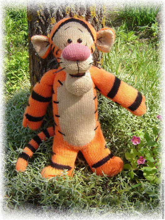 Сказочные персонажи ручной работы. Ярмарка Мастеров - ручная работа. Купить Мягкая игрушка Тигра. Handmade. Тигра, заводила