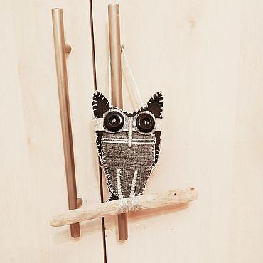Куклы и игрушки ручной работы. Ярмарка Мастеров - ручная работа Совушка ночная. Handmade.