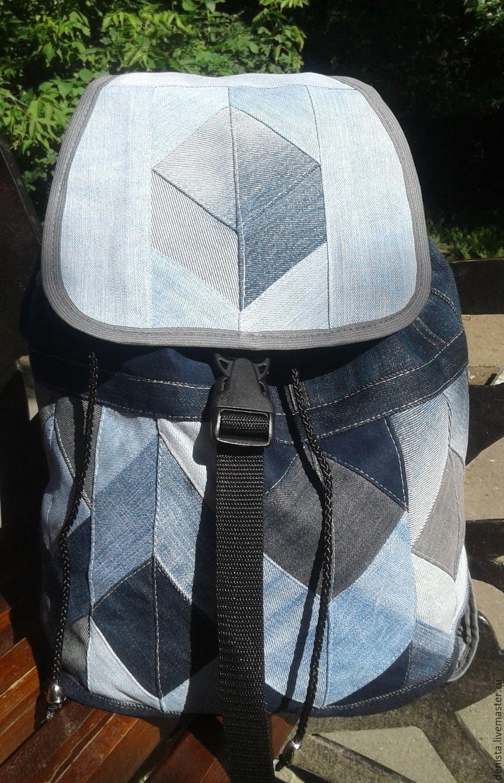 Backpack denim 3D, Backpacks, Saratov,  Фото №1