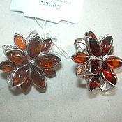 Украшения handmade. Livemaster - original item The earrings AMBER,silver 925.. Handmade.
