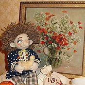 Куклы и игрушки ручной работы. Ярмарка Мастеров - ручная работа Домовенок Гоша. Handmade.