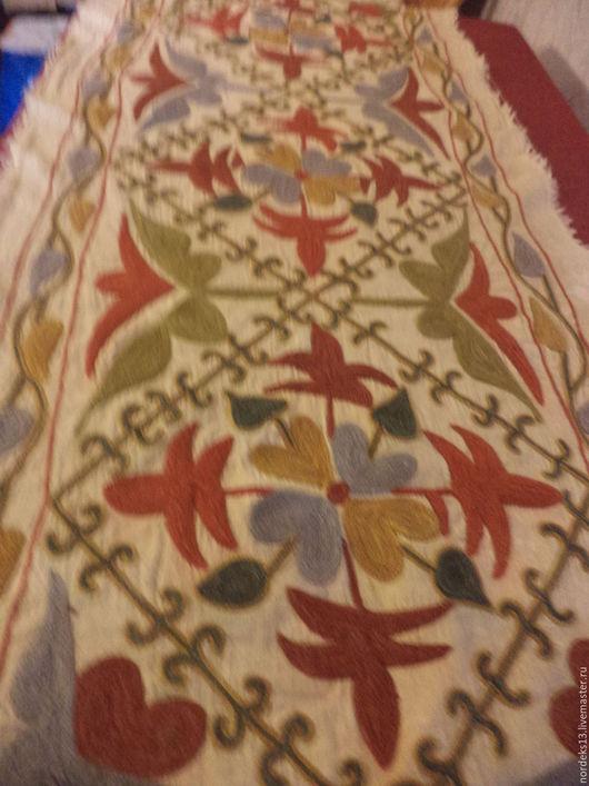 Винтажные предметы интерьера. Ярмарка Мастеров - ручная работа. Купить старинное сюзане Иран. Handmade. Комбинированный