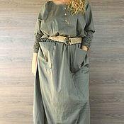 Одежда handmade. Livemaster - original item Dress in the style boho. Free style. LARGE size.. Handmade.