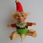 Куклы и игрушки ручной работы. Ярмарка Мастеров - ручная работа На птице счастья.. Handmade.