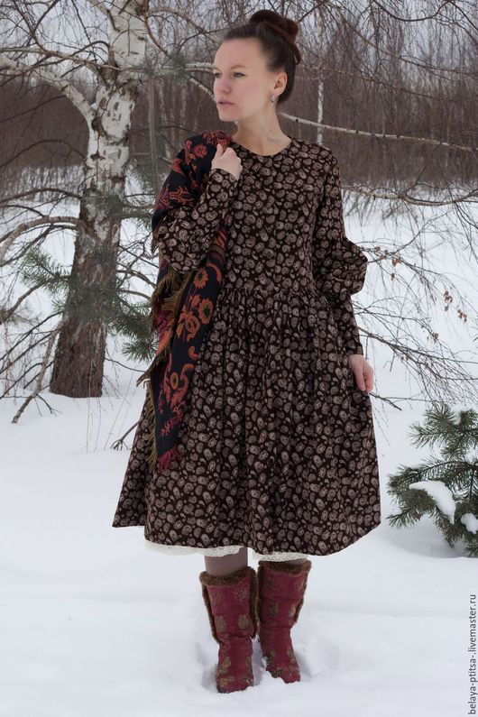 """Платья ручной работы. Ярмарка Мастеров - ручная работа. Купить Платье """"Бохо-стиль"""". Handmade. Женская одежда, платье, хлопок"""