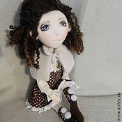 Куклы и игрушки ручной работы. Ярмарка Мастеров - ручная работа Текстильная кукла Мишель. Handmade.