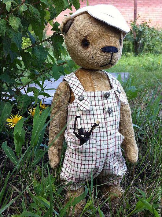 Мишки Тедди ручной работы. Ярмарка Мастеров - ручная работа. Купить Прош. Handmade. Оливковый, мишутка