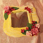 Для дома и интерьера ручной работы. Ярмарка Мастеров - ручная работа Зеркальце для принцессы. Handmade.