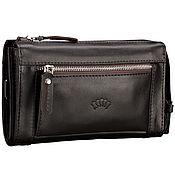 Сумки и аксессуары handmade. Livemaster - original item Leather clutch bag