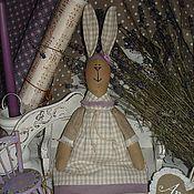Куклы и игрушки ручной работы. Ярмарка Мастеров - ручная работа Лавандовая зайка. Handmade.
