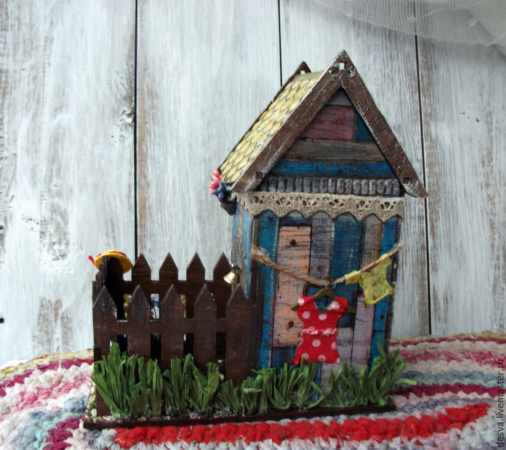 "Tea house with candy ""summer in the village"" - shop online o."