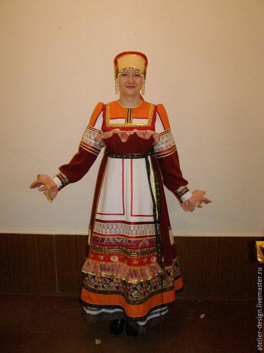 Сценический костюм `Барыня`.