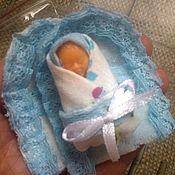 Куклы и игрушки ручной работы. Ярмарка Мастеров - ручная работа Пупсики в конвертике. Handmade.