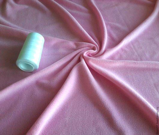Шитье ручной работы. Ярмарка Мастеров - ручная работа. Купить Поларфлис нежно-розовый. Handmade. Бледно-розовый, флис, трикотаж