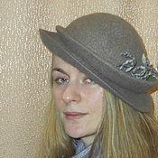 Шляпы ручной работы. Ярмарка Мастеров - ручная работа Модель №32 Шляпа Мария. Handmade.