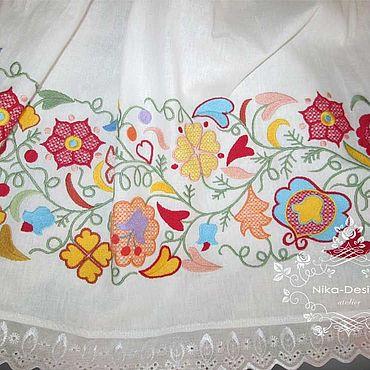 Купить ткань татарский орнамент рубашка из шитья женская