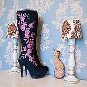 """Обувь ручной работы. Ярмарка Мастеров - ручная работа Валенки Сапожки  """"Брусника"""". Handmade."""