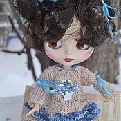 Куклы и игрушки handmade. Livemaster - original item Dress and gaiters