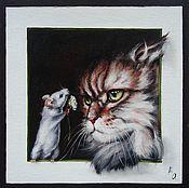 Картины и панно handmade. Livemaster - original item Oil painting This is for you!. Handmade.